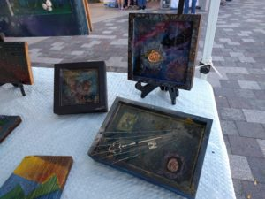 Eopxy Resin Paintings